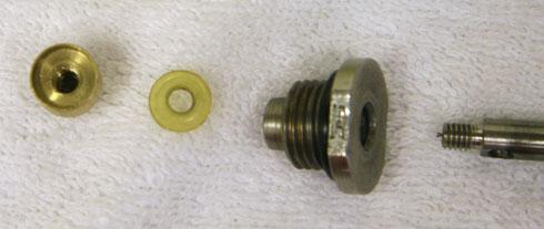 valve retaining assembly of modified ranger tube
