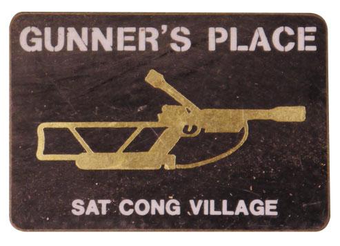 gunners place sticker