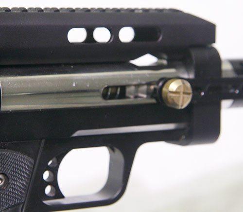 Circle Gun close up right side