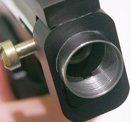 Circle Gun front screw in body