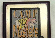 Zap - Camp Masters, 1995 plaque that came from Brahim Estephan.