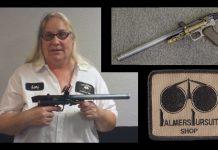 Lori Wilcox on the history of the Palmer's Tornado semi automatic.