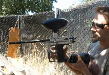 Arlyn James shows off his Lever action Sniper 2
