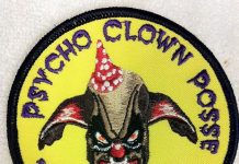 Psycho Clown Posse Paintball team patch