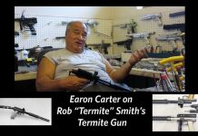 Earon Carter on the Termite Gun
