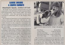 Sargie award from idema