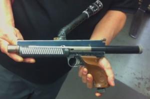 Derrick Obatake's Nelspot 007 rail gun