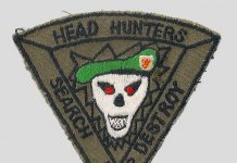 Sat Cong Headhunter's 1984 patch