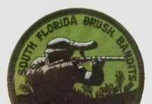 South Florida Brush Bandit's team photo.