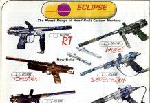 Eclipse Paintball Guns scanned from September 1998 PGI.