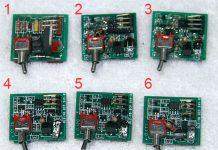Revolution board identification