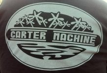 William Kapes Carter Machine shirt