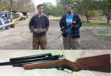Jason and Andrew's Lever Action Sheridan rifle build.