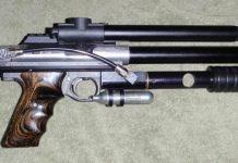 WGP pump 12 gram changer on bens automag pistol