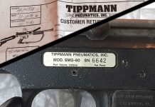 Tippmann 68 Special converted from SMG 60 with paperwork.