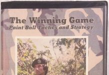 Cover of the Winning Game VHS tape. Front player is holding a Pump Twist Dual.