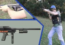 Shooting the Paintball Max 2k Sniper.