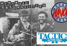 Joe Comstock and Mike Weiner at Tactics as pictured in the Fall 1987 issue of Action Pursuit Games.