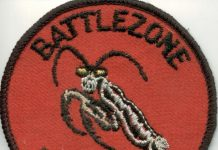 "Summer 1989 Battlezone Predator patch. Scan courtesy Rick ""RJ"" Taylor."