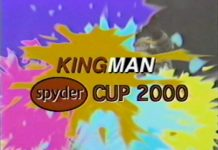 Spyder Cup 2000 intro title.
