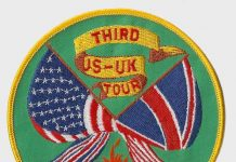 3rd US to UK trip for the May 1991 Mayhem Games Patch. I'm not sure who the original owner of this patch was, it came from mcb.