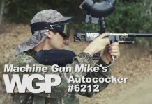 Shooting the Machine Gun Mike 1991 Autococker