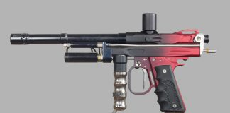 Left side of JR's Pro Series Autococker.