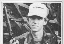 Colin Thompson, pictured in this Lapco ad, in the September 1989 issue of Paintcheck Magazine.