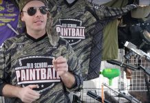 Chris Iaquinta talks about the old school paintball big game.