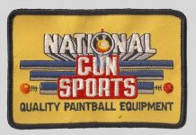The patch for National Gun Sports, owned by Kes Kessler out of Virginia.