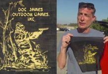 Michael Karman on Doc James Outdoor Games.