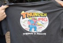 Thunder Pig Springs and Things T-Shirt