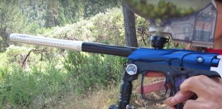 Eric Jordan's Mechanical Ion at Bacci Mountain Paintball.