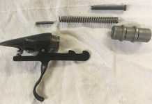 Sheridan KP2 Trigger group parts.