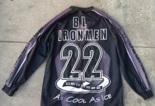 "Bob Long Ironmen 32 Degrees ""As Cool As Ice"" Jersey from local seller. Unclear if legitimate."
