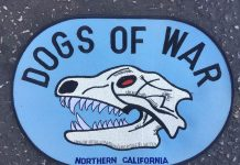 Dogs of War patch from Rick Wilcox.