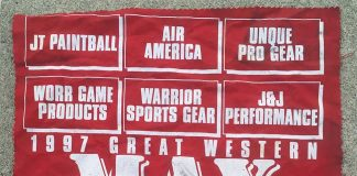 1997 Great Western Series flag.