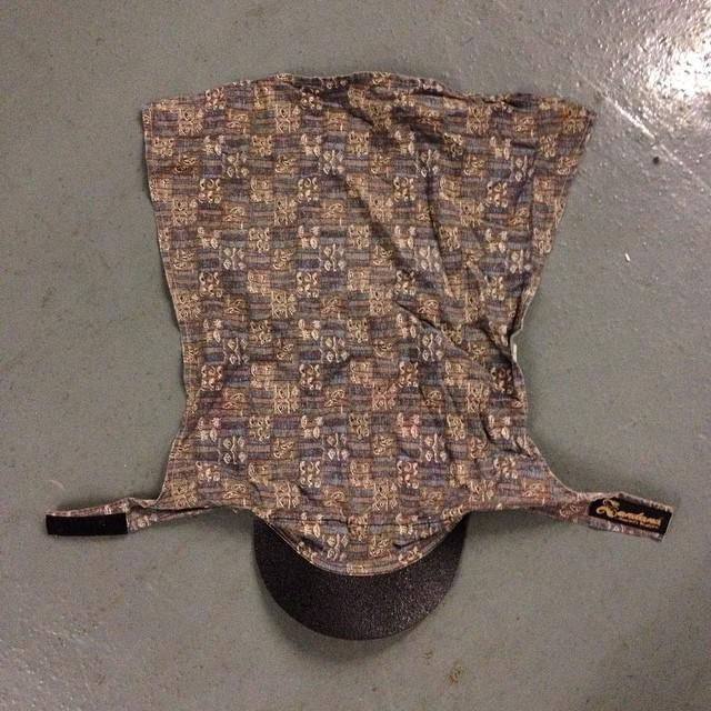 Vintage Bad Bill Hard Brimmed Sandana head wrap/hat.