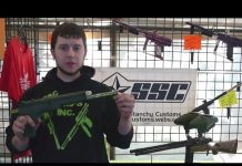 Ryan at Super_Stanchy Customs and his modified Splatmaster.