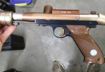 AGS Comp Pump Paintball Marker.
