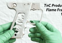 TnC Products and FBM Flame Hinge Frame machined by Chris Ogaz.