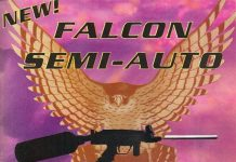 Falcon Advertisement scanned from October 1994 issue of PSI.