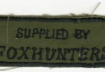 Foxhunters' patch